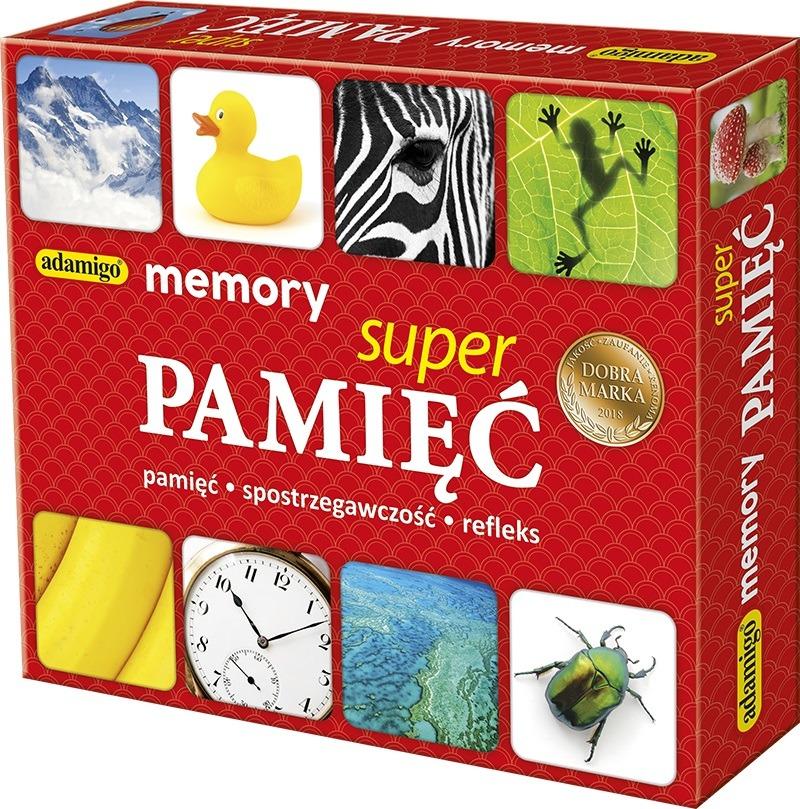 Adamigo, super pamięć – memory, gra pamięciowa Smyk 6429247