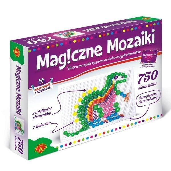 Alexander, magiczne mozaiki, 750 elementów Smyk 5824798