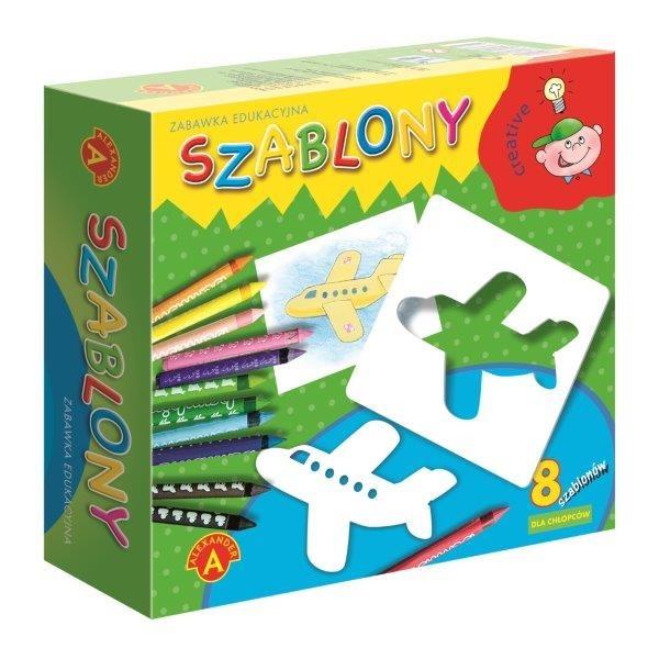 Alexander, szablony dla chłopców, gra kreatywna Smyk 5824812