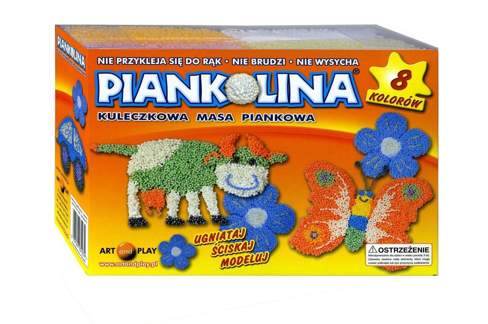 Art and play, piankolina, 8 kolorów Smyk 5879379