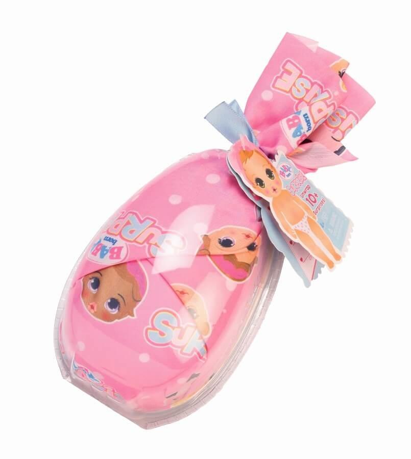 Baby born, siusiająca laleczka w paczuszce, zestaw niespodzianka Smyk 6440681
