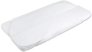 Babymatex, safe frotte, podkład paroprzepuszczalny, biały, 60×120 cm Smyk 5791026