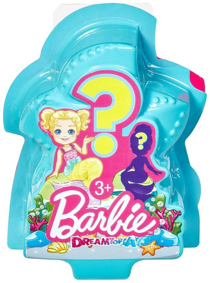 Barbie dreamtopia, syrenka niespodzianka, lalka, 1 szt. Smyk 6505897