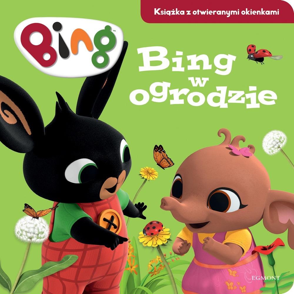 Bing w ogrodzie. książka z otwieranymi okienkami Smyk 6559709