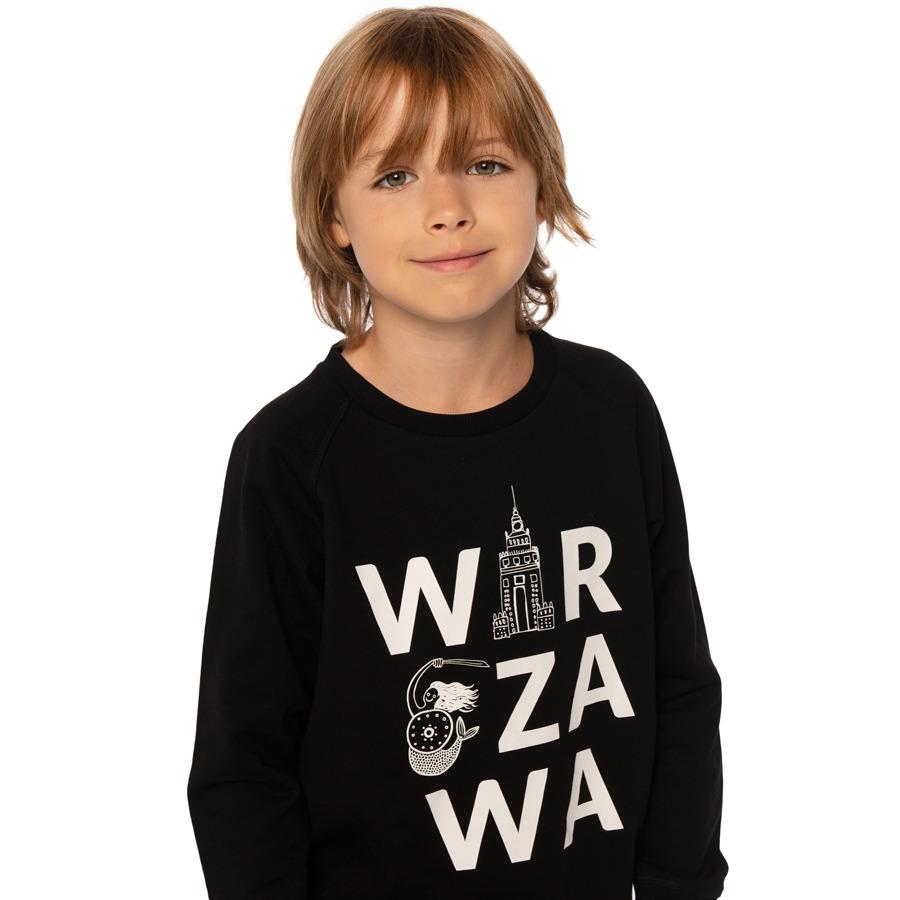 Cool Club, Bluza chłopięca, czarna, Warszawa
