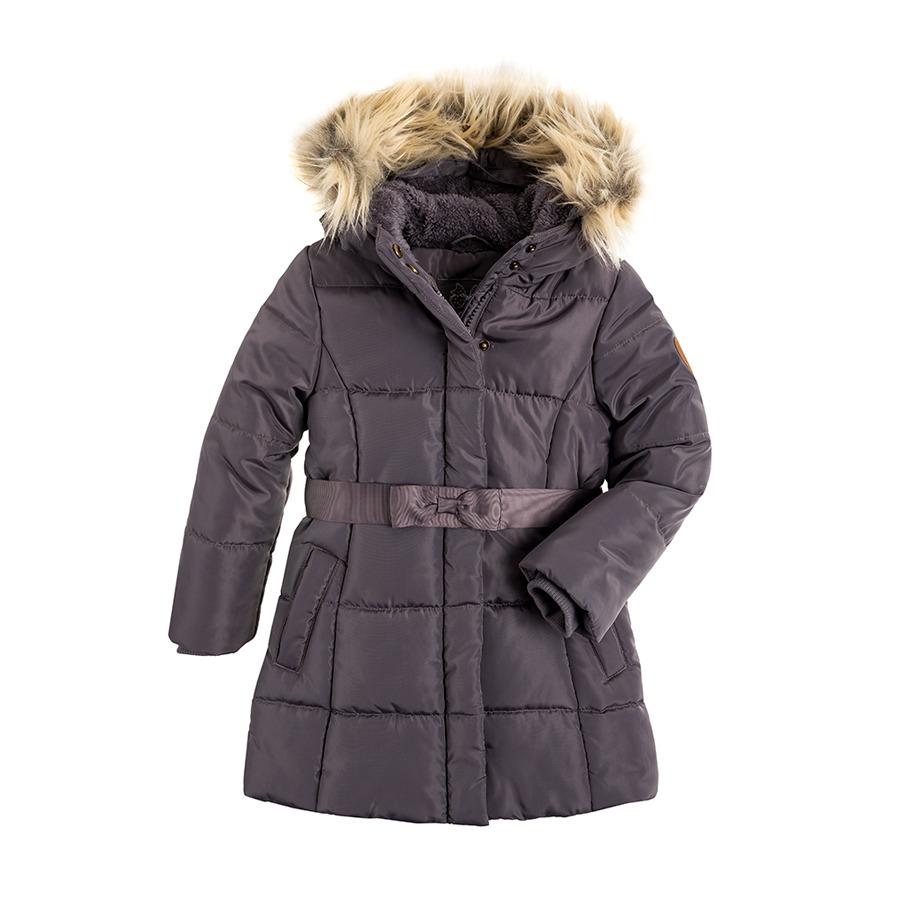 Cool Club, Płaszcz zimowy dziewczęcy, szary