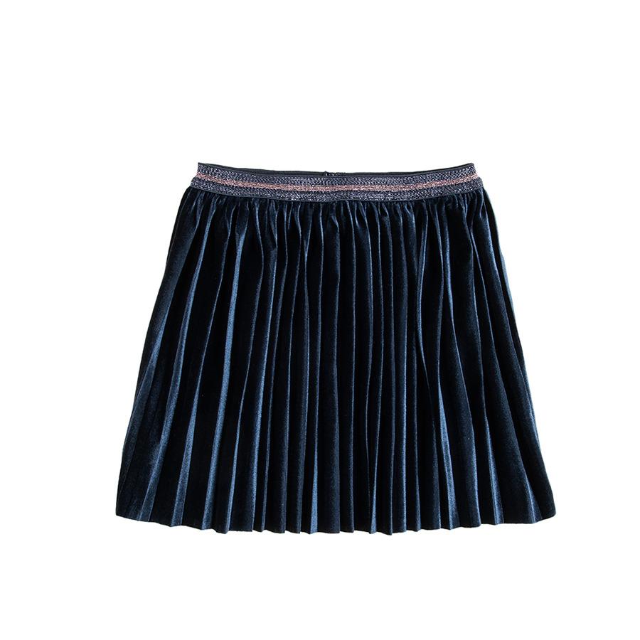 Cool Club, Spódnica dziewczęca, granatowa, plisowana