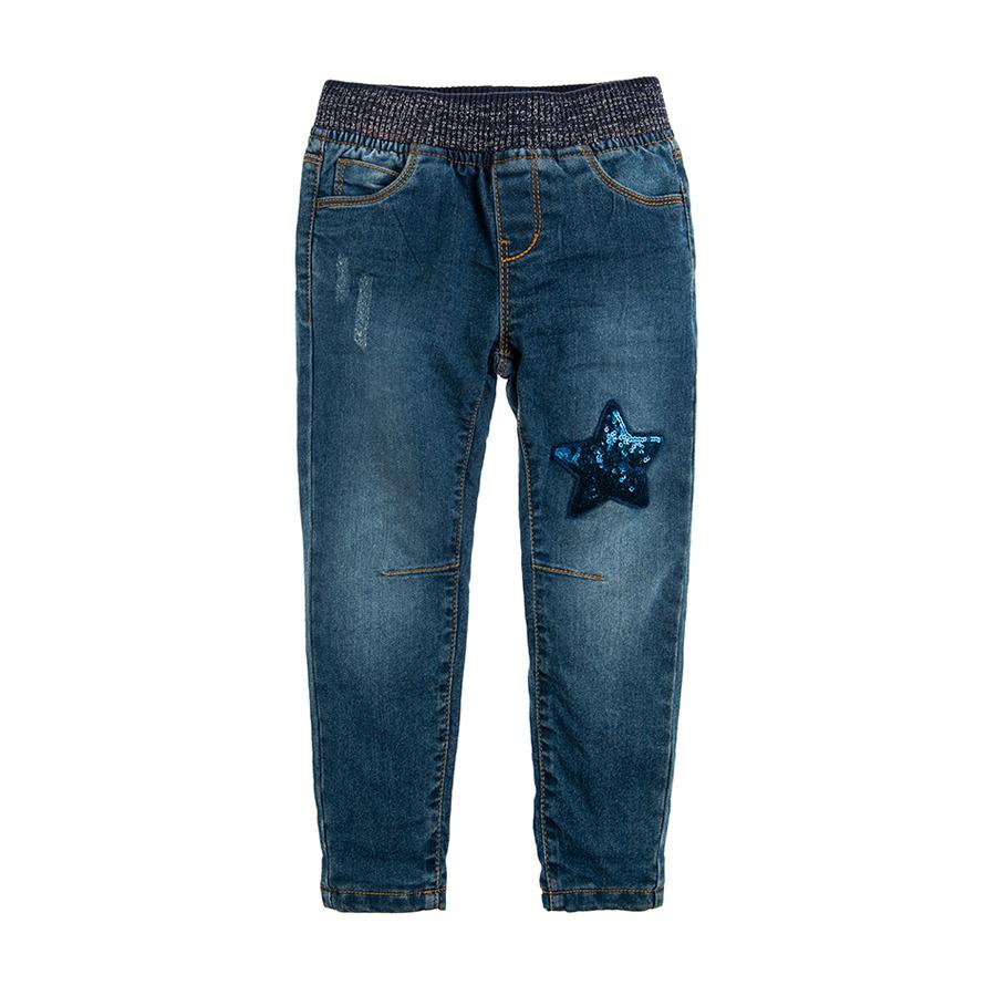 Cool Club, Spodnie jeansowe dziewczęce, gwiazda
