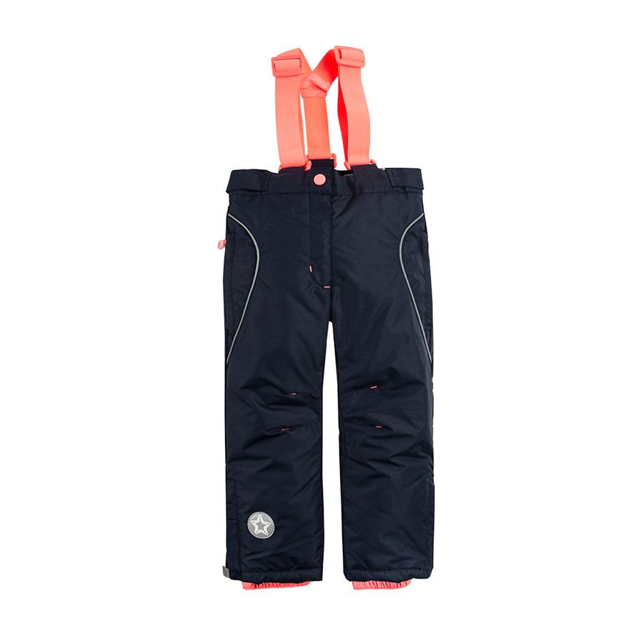 Cool Club, Spodnie narciarskie dziewczęce, granatowe