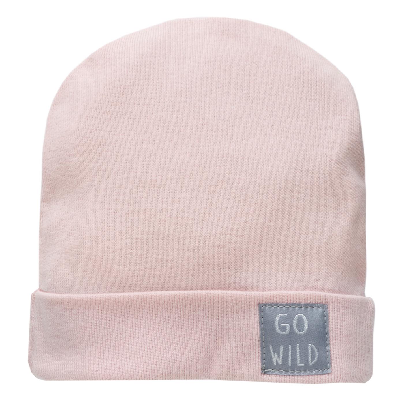 Czapka dziewczęca, różowa, pinokio Smyk 6490550