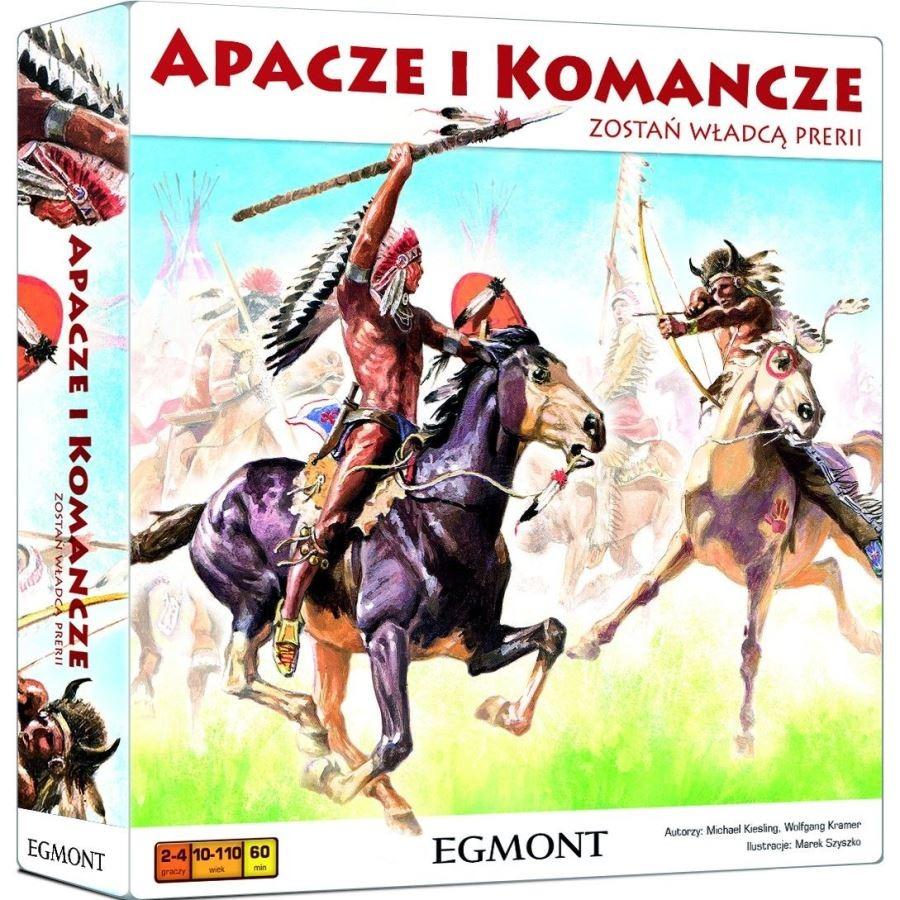 Egmont, apacze i komancze, gra planszowa Smyk 5786358
