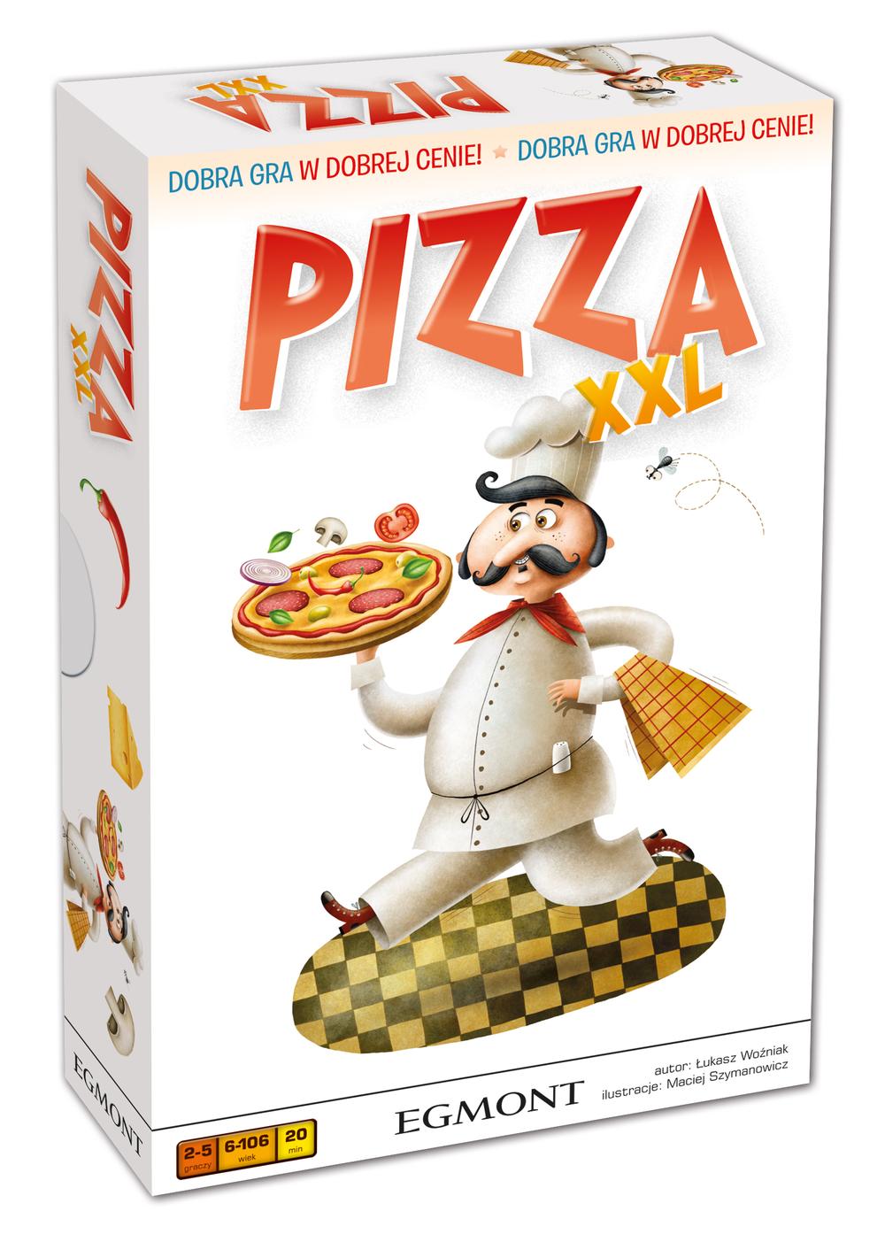 Egmont, pizza xxl, gra planszowa Smyk 5634375
