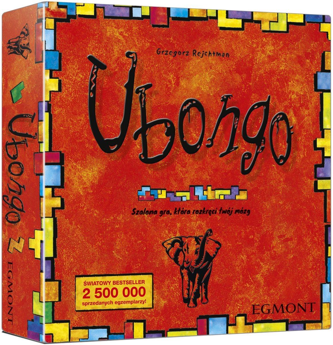 Egmont, ubongo, gra planszowa Smyk 6124823