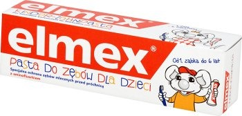 Elmex, pasta do zębów dla dzieci 1-6 lat, 50 ml Smyk 5798575