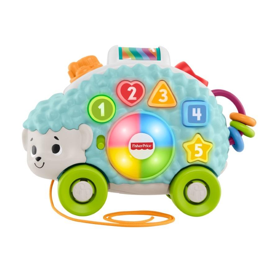 Fisher-price, linkimals, interaktywny jeż, zabawka niemowlęca Smyk 6517938