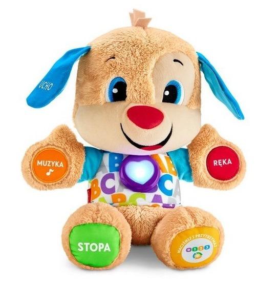 """Fisher-price, szczeniaczek uczniaczek poziomy nauki"""", zabawka interaktywna"""" Smyk 6210544"""