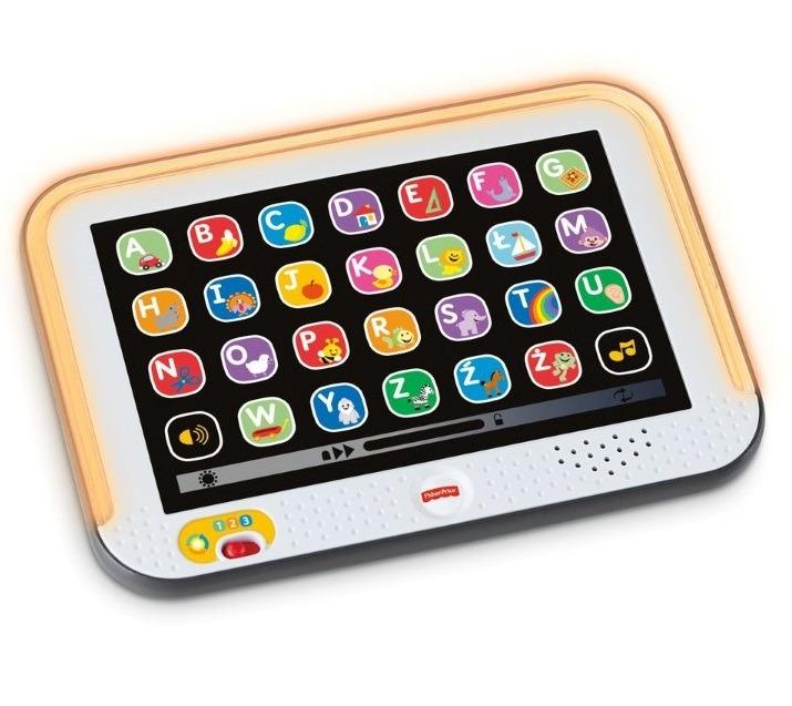 Fisher-price, tablet malucha, zabawka interaktywna Smyk 5808166