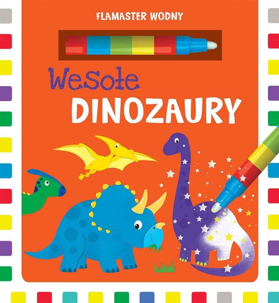 Flamaster Wodny Wesole Dinozaury Smyk Com