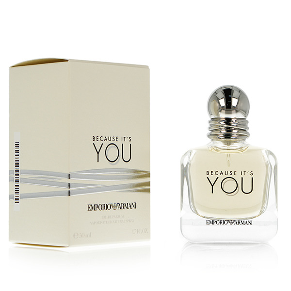 Giorgio armani, because it's you, woda perfumowana, 50 ml Smyk 6141639