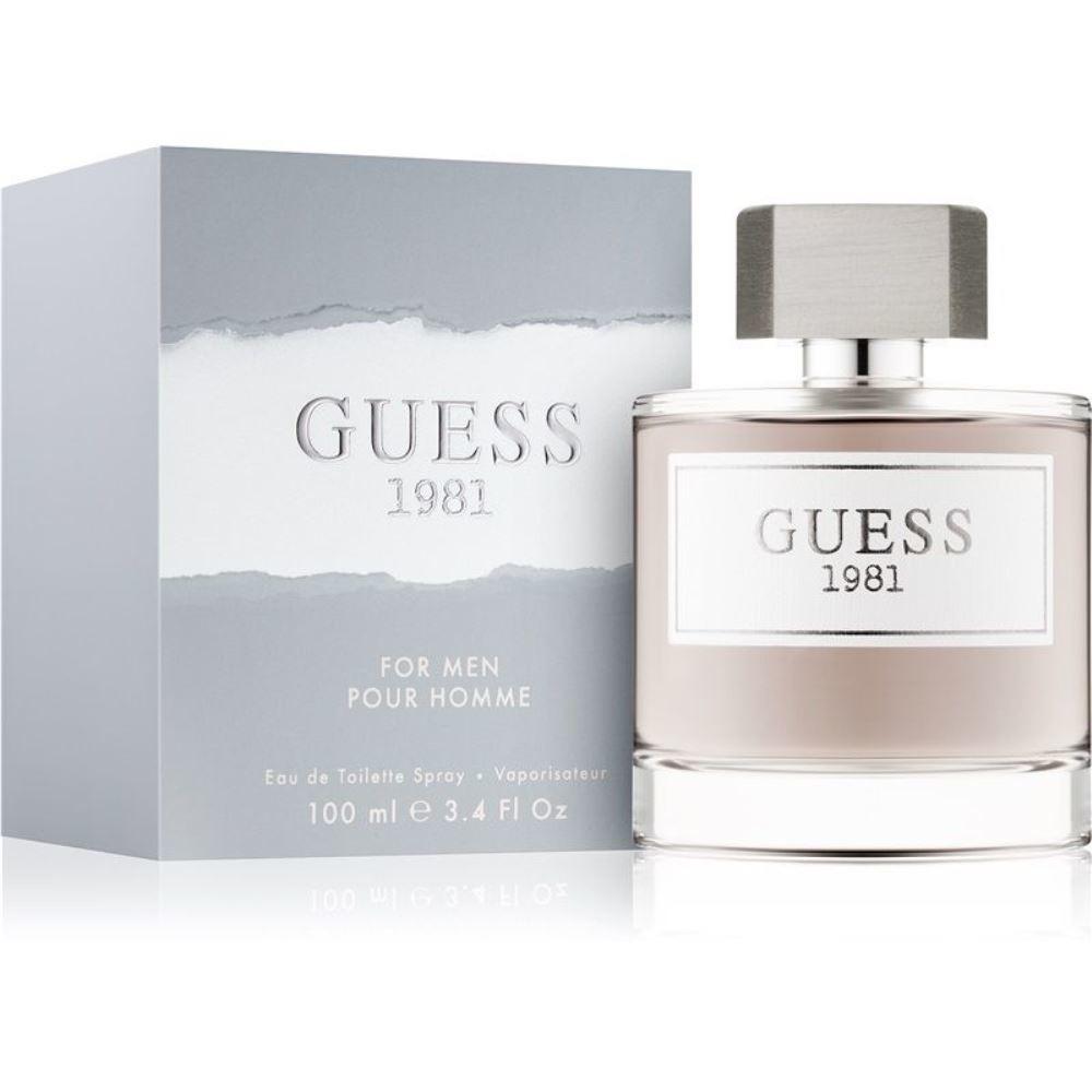 Guess, Guess 1981 for Men, woda toaletowa w sprayu, 100 ml