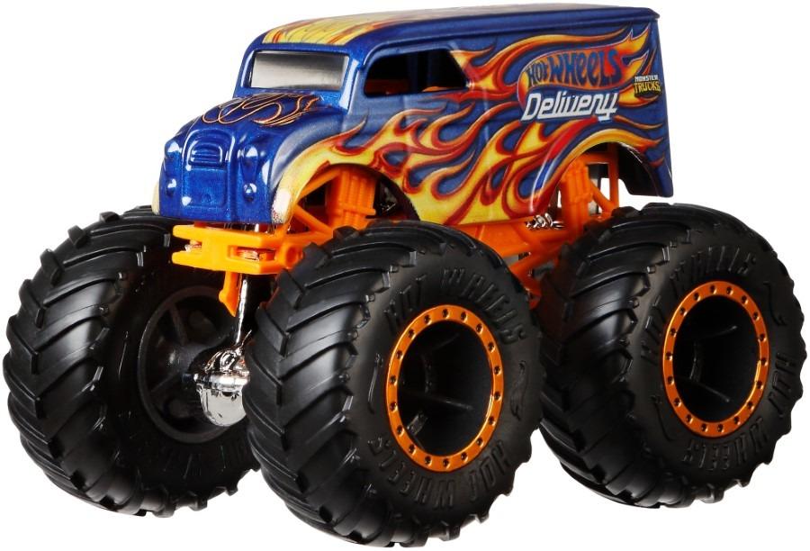 Hot wheels, monster trucks, pojazd, skala 1:64 Smyk 6411533