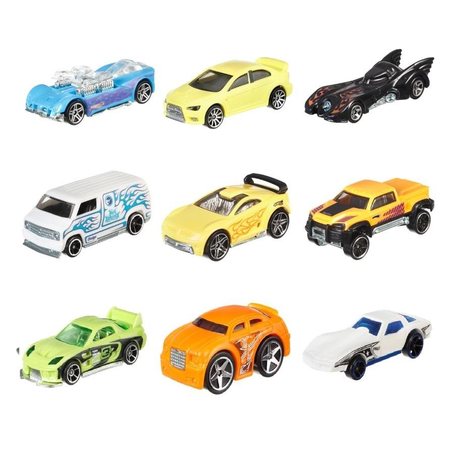 Hot wheels, samochodzik color shiftes zmieniający kolor, 1 szt. Smyk 4930766
