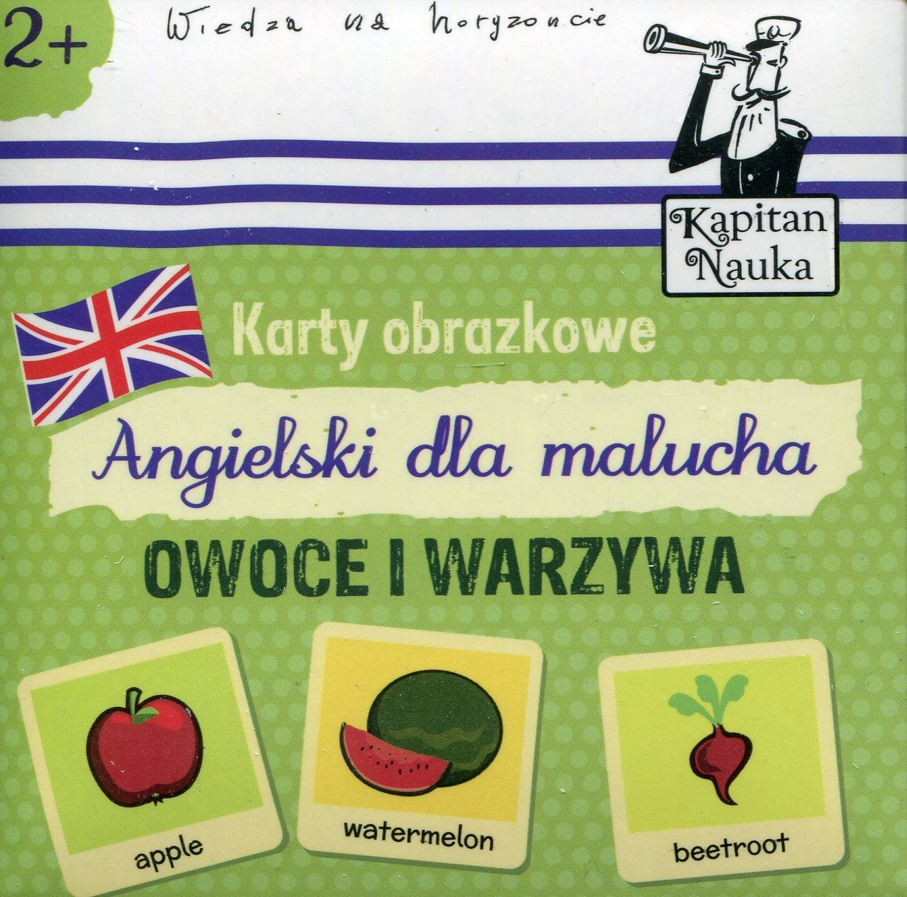 Kapitan Nauka Karty Obrazkowe Angielski Dla Malucha Owoce