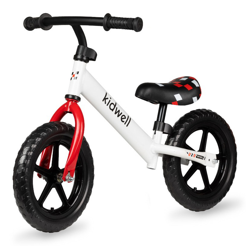 Kidwell, rebel, rowerek, biały Smyk 6621225