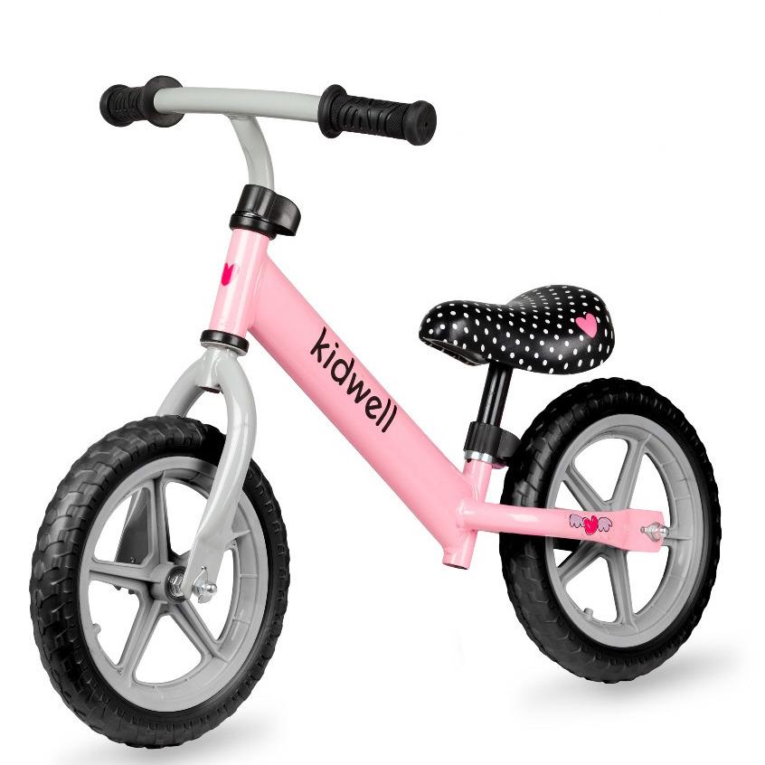 Kidwell, rebel, rowerek, różowy Smyk 6621226