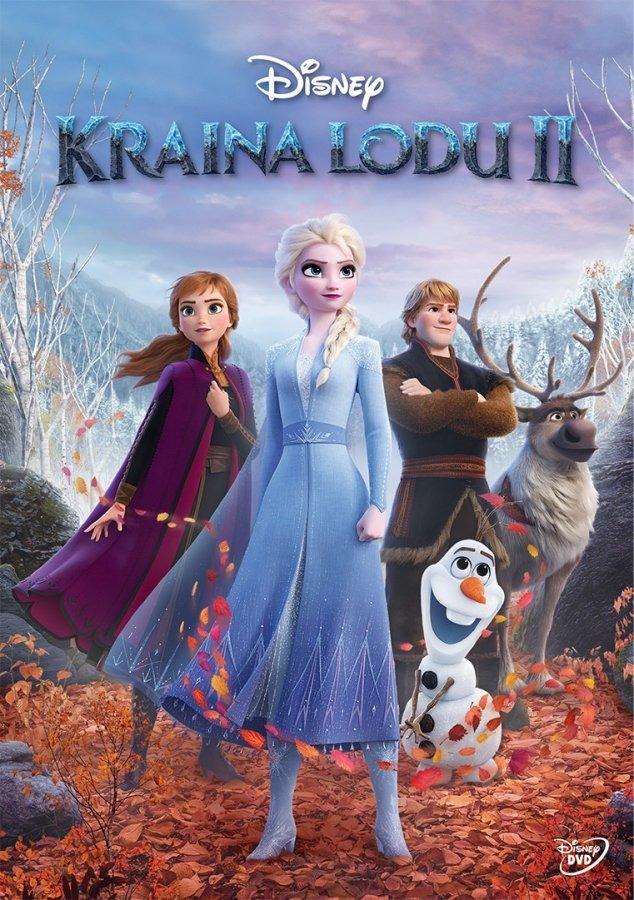 Kraina lodu 2. dvd Smyk 6658123