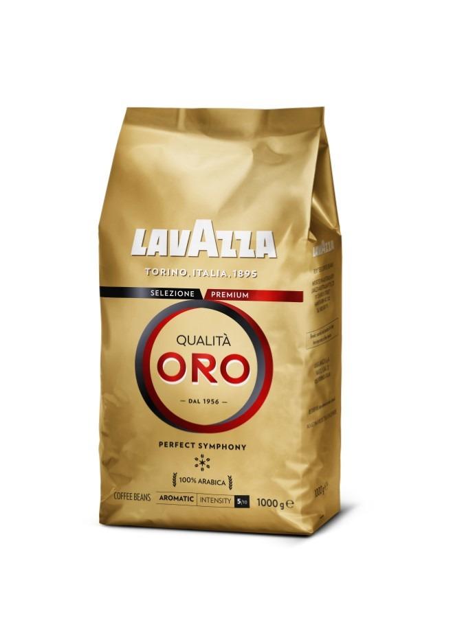 Lavazza, qualità oro, kawa ziarnista, 1000 g Smyk 6432316