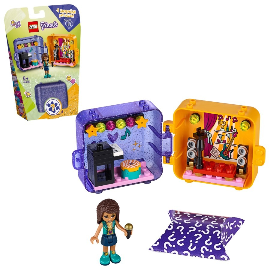 Lego friends, kostka do zabawy andrei, 41400 Smyk 6597325