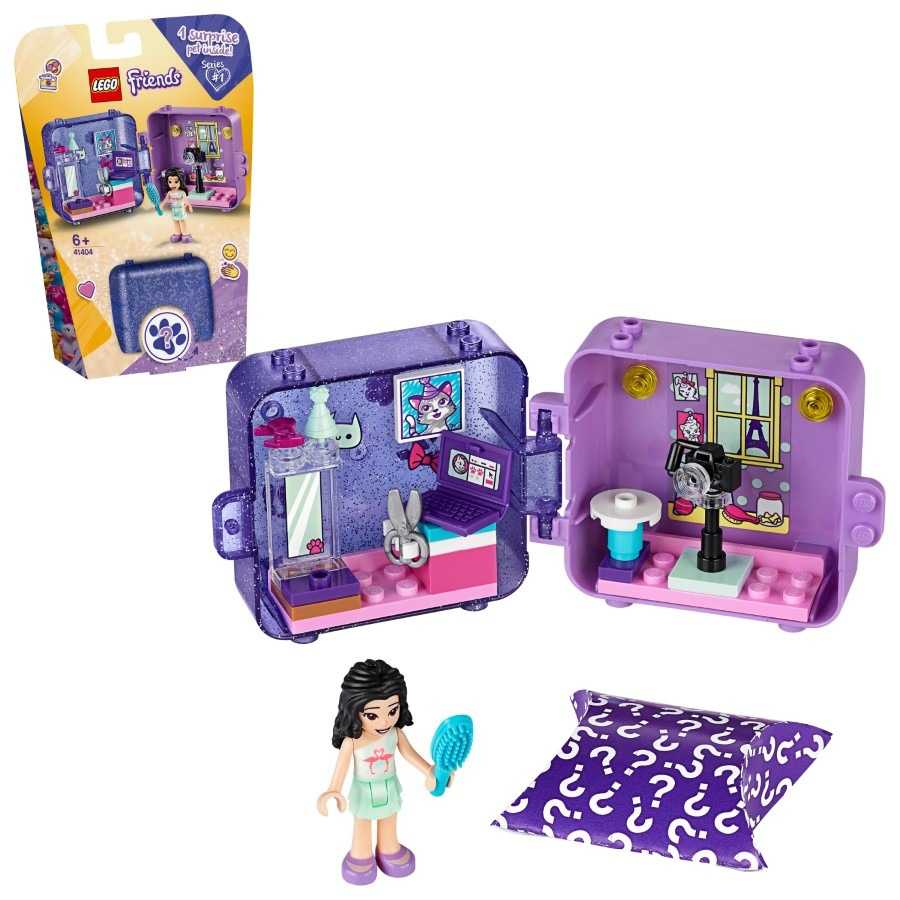 Lego friends, kostka do zabawy emmy, 41404 Smyk 6597323