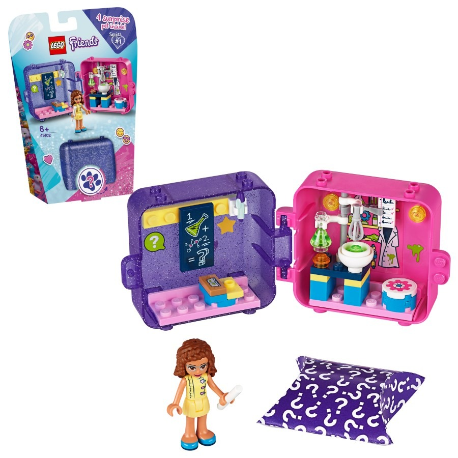 Lego friends, kostka do zabawy olivii, 41402 Smyk 6597313