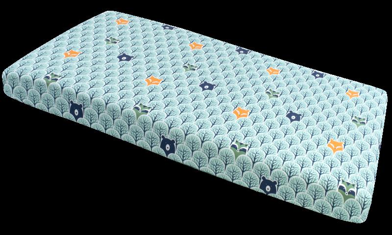 Medi partners, las, prześcieradło z gumką, 60×120 cm Smyk 6527879