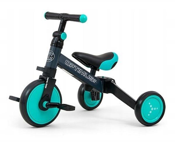 Milly mally, optimus mint, rowerek 3w1 Smyk 6602355