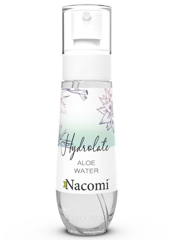 Nacomi, Hydrolate Rose Water, hydrolat różany, 80 ml