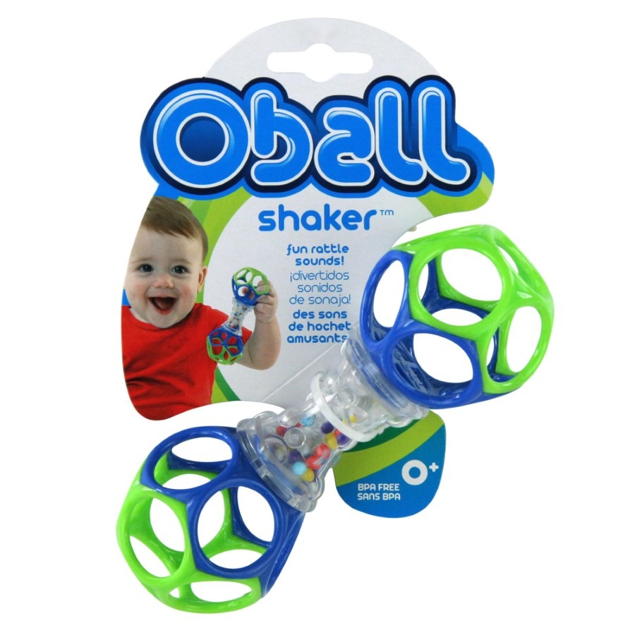 Oball shaker, zabawka niemowlęca Smyk 4668858