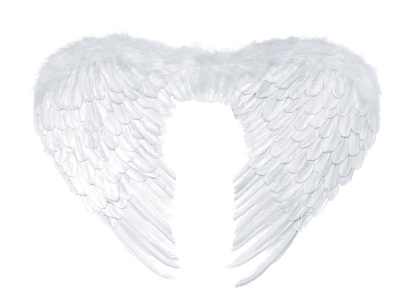 Partydeco Skrzydła Anioła Biały 76x55 Cm