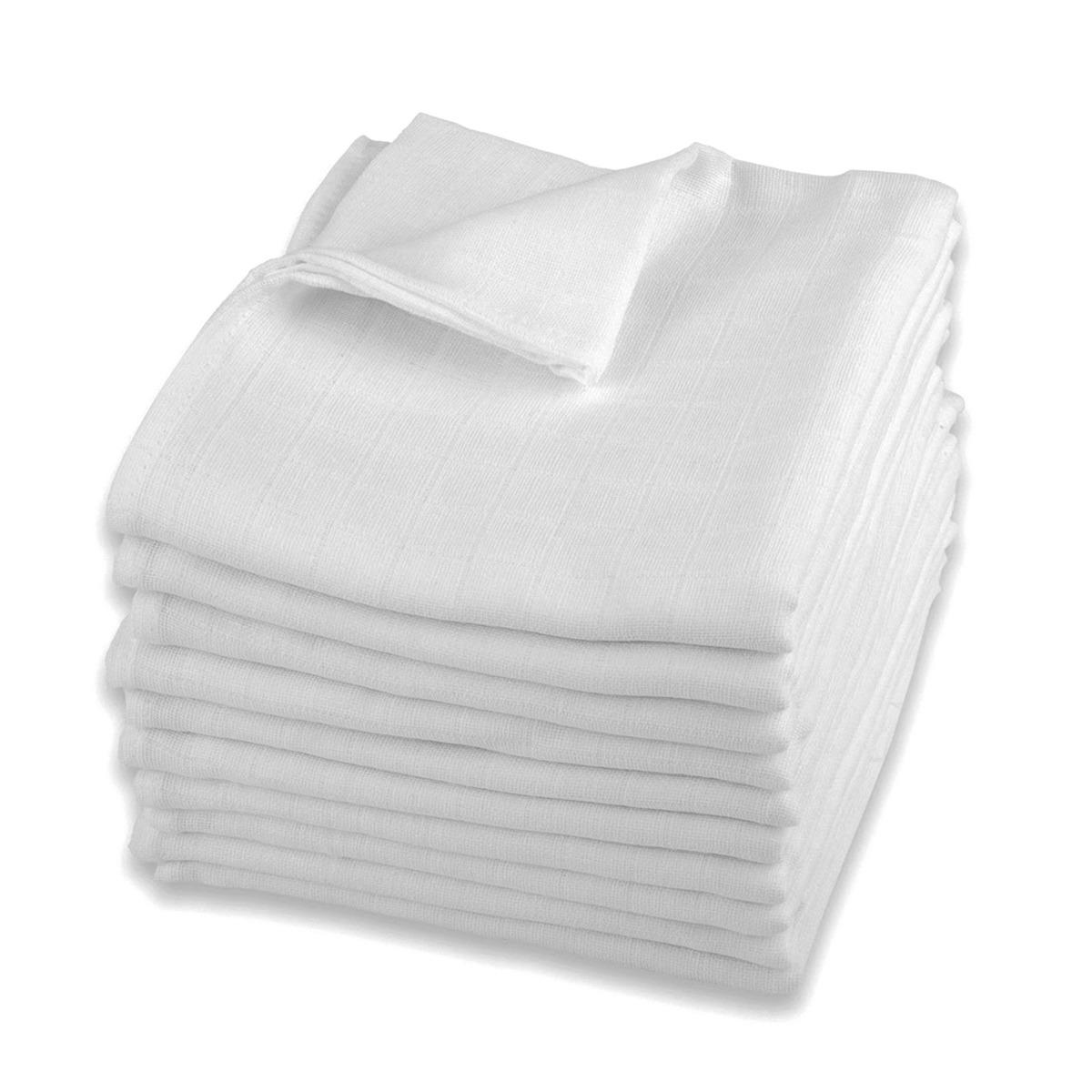 Pieluchy tetrowe, białe lux, 80×80 cm, 10 szt. Smyk 5794872