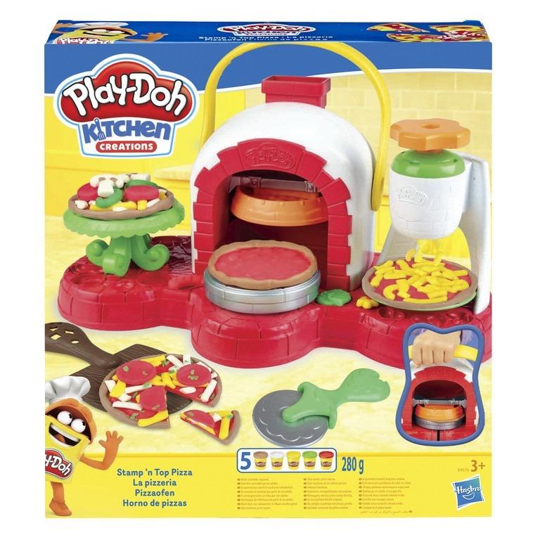 Play-doh, piec do pizzy, 5 tub i akcesoria Smyk 6419014