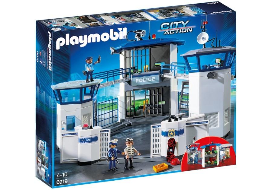 Playmobil, city action, komisariat policji z więzieniem, 6919 Smyk 6039201