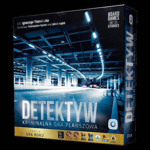 Portal games, detektyw: kryminalna gra planszowa, gra strategiczna Smyk 6376549