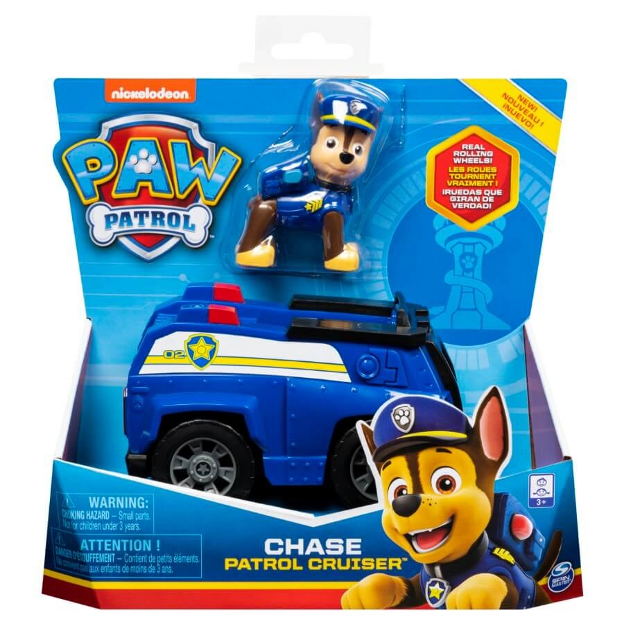 Psi patrol, chase, pojazd z figurką Smyk 6620718