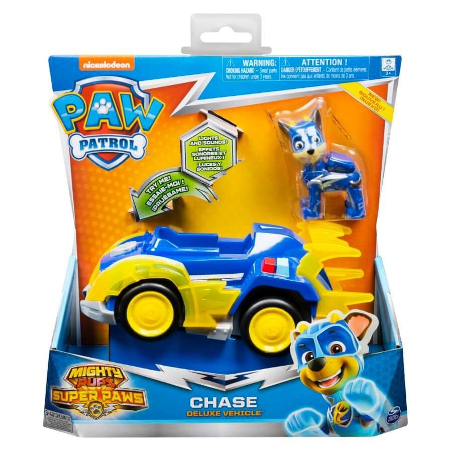 Psi patrol, chase, pojazd z figurką Smyk 6620723