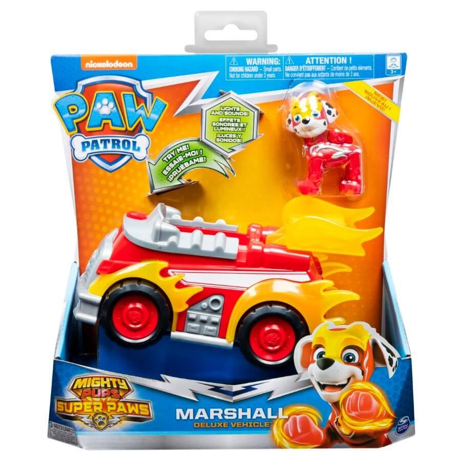 Psi patrol, marshall, pojazd z figurką Smyk 6620724