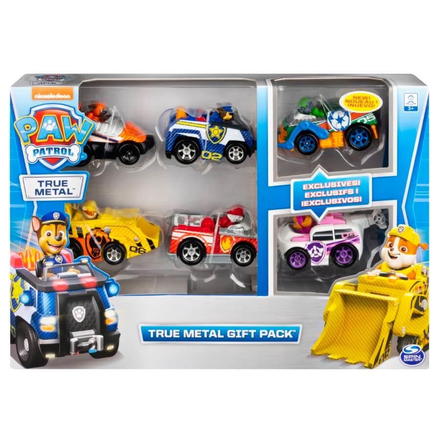 Psi patrol, zestaw aut, 6 szt. Smyk 6620729