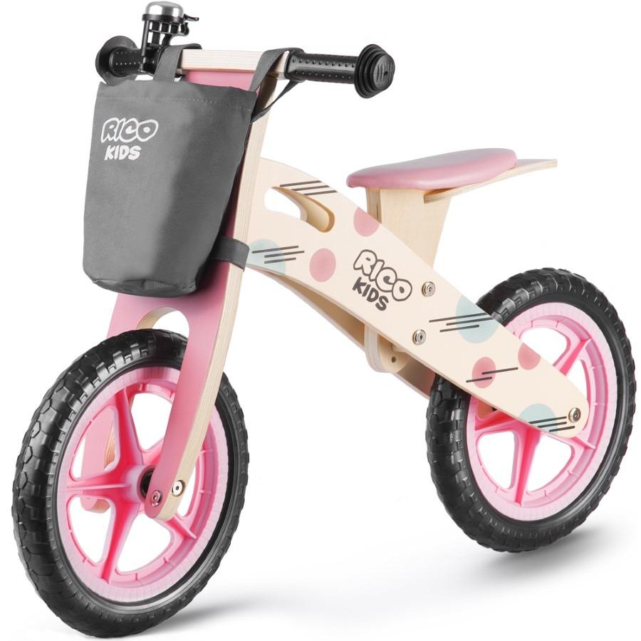 Ricokids, rowerek biegowy, 12 cali, drewniany Smyk 6521021