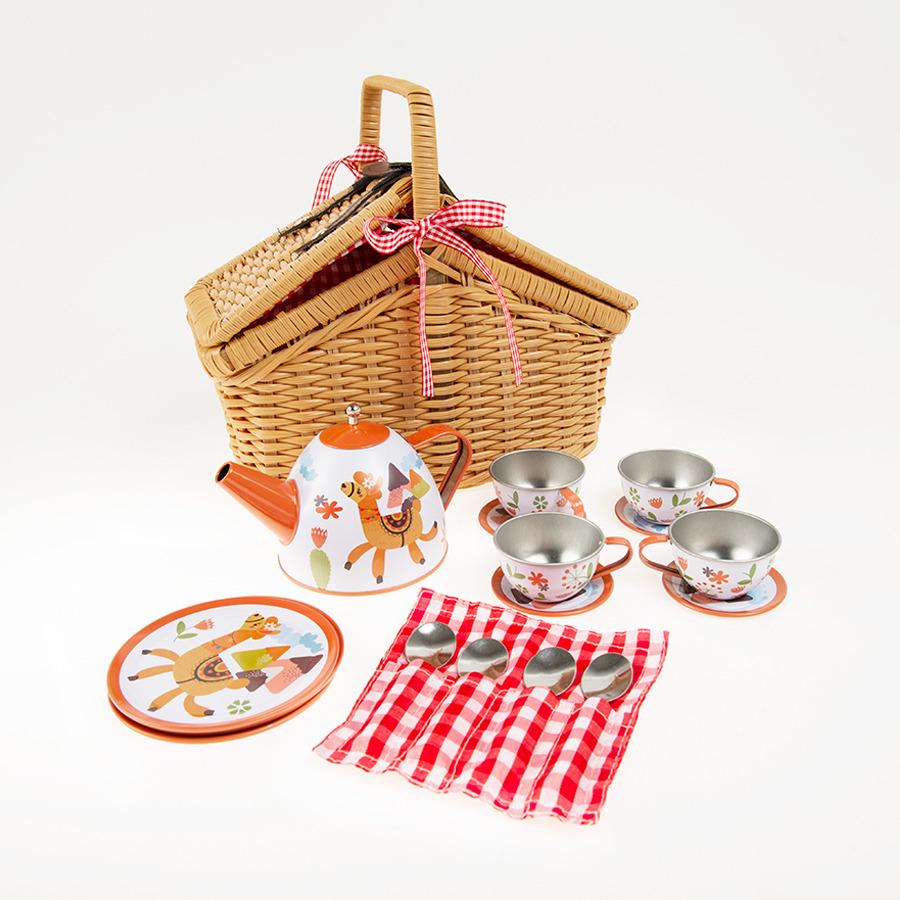 Smiki Zestaw Piknikowy Serwis Do Herbaty 18 Szt Smyk Com