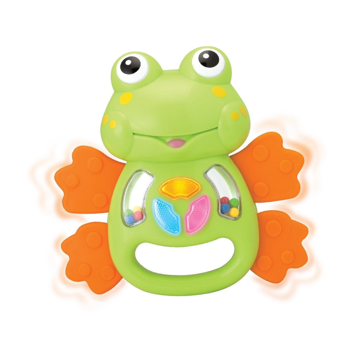 Smily Play żabka śmieszka Grzechotka